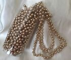 Rose Gold 8mm  Pearl Bead Trim   Cakes, weddings, crafts