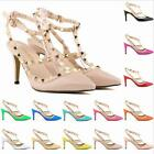 Fashion sexy woman's Ladies rivet High Heels Party Wedding Count Pump Shoes