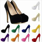 HOT!sexy High Platform High Heel Wedge Loafers Pumps Shoes Athletic flannel