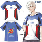 New! OW SOLDIER:76 hoodies Short T-shirt Tops Cosplay costume Sweater coat