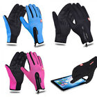 Winter Cycling Windproof Waterproof WarmTouch Screen Gloves Mittens for Phone