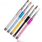 Nail Art Tips UV Gel Crystal Acrylic Painting Drawing Pen Polish Brush Pen