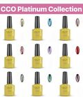 CCO UV/Led Nail Gel Polish. New & Exclusive Platinum Collection. Glitter Polish