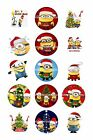 "CHRISTMAS BOTTLE CAP IMAGES 15 1"" CIRCLES ALL YOU PICK $2.45 ***FREE SHIPPING***"
