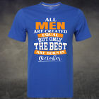 All Men Are Created Equal Tee But Only The Best Are Born In October Gift T Shirt