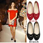 Women Fashion Round Toe Applique Cute Cat Loafers Slip On Ballet Flats Shoes 4-9