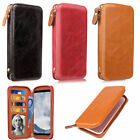 nokia 520 size - Two Sizes General PU Leather Card Slot Purse Wallet Cases For Various Phone