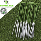 Artificial Fake Grass Staples Turf Lawn U Pins Metal Galvanised Pegs Weed 150mm