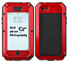 Waterproof Shockproof Metal Aluminum Hard Cover Case for Samsung Galaxy& iPhone