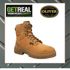 Oliver AT'S Lace Up Metatarsal Guard Steel Capped Safety Boots- 55336