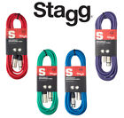Stagg Microphone Cable, High Quality XLR-XLR, ROHS Compliant, 6m Length