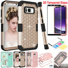 Hybrid Heavy Duty Shockproof Rubber Case Armor Cover For Samsung Galaxy S8 Plus