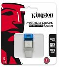 Kingston USB 3.1 A / Type C MobileLite Duo 3C FCR-ML3C Card Reader Micro SDHC