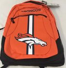 NFL 2019 NWT LICENSED Denver Broncos Backpack School Bag Book Laptop 18 x 13 x 6