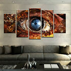 5 Pcs HD Printed Painting Steampunk Abstract Eye Wall art Picture For Home decor