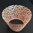 25/50/100pcs Filigree Vine Cupcake Wrappers Cases Gift Wedding Birthday Cake