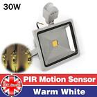 PIR10W 20W 30W 50W Motion Sensor LED Floodlight Security Flood Light Outdoor UK