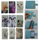 For Elephone Highscreen Phone PU Leather Protect Skin Cover Card Holder Wallet