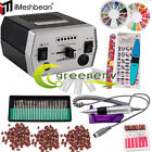 Professional Nail Drill File Electric Acrylic Manicure Machine Pedicure Tool Kit