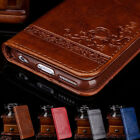 Luxury Leather Flip Wallet Phone Case Cover Stand for Apple iPhone 7 6 6S Plus