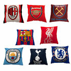 Official Football Club Logo Squre Creast Cushion In Different Design 40x40cm