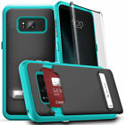 Galaxy Note 8 / S8 / S8 Plus Case, Phase by CLICK CASE- Screen Protector- Wallet