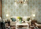 Vintage Style Embossed Environmental Friendly 3D Non-woven Bedroom Wallpaper5.3㎡