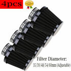 4x Motorcycle Quad Air Filter 35/39/48/54/60mm Intake Scooters Moped ATV GO KART