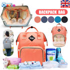 Fashion Large Mummy Maternity Nappy Diaper Bag Baby Bag Travel Backpack