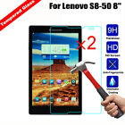 2Pcs Genuine 9H Tempered Glass Clear Screen Protector For Lenovo IdeaTab Tablet