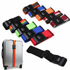 1x Colorful Luggage Suitcase Baggage Cross Strap Belt With Secure Coded Lock