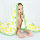 Multifunctional 4 Layers Baby Bamboo Blanket Swaddle Bedding Newborn Wrap 47*47""