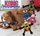 Kong Puzzlements Interactive Puzzle Dog Puppy Toy - Soft Plush Squeaky Crinkle