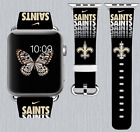 New Orleans Saints Apple Watch Band 38 40 42 44 mm IWatch PU Leather Strap 188 on eBay