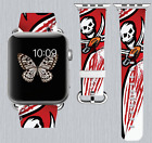 Tampa Bay Buccaneers Apple Watch Band 38 40 42 44 mm IWatch PU Leather Strap 1 on eBay