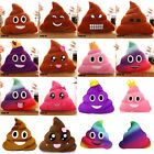 Poop Poo Family Emoji Emoticon Pillow Stuffed Plush Toy Soft Cushion Doll HOT TS