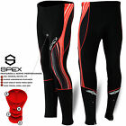 Mens Cycling Tights Trouser Winter Coolmax Padded Cycle Leggings Long Pants