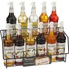Monin Flavouring Syrup 70cl. Glass Bottle + FREE Monin Pourer