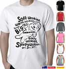 Funny T-Shirts Star wars Soft kitty Big bang parody Wookie Ladies Men's Aussie $22.49 AUD