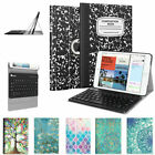 For iPad mini 4 3 2 1 SlimShell Case Stand Cover + Wireless Bluetooth Keyboard