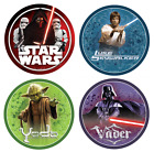 Star Wars Edible Cake Topper Decoration Birthday Party Round Image $9.95 AUD