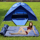 Hot Outdoor Moisture Pad Single Self Inflate Camping  Mattress Inflatable Pillow