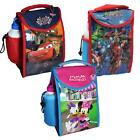 """Back to School"" Disney / TV Character Insulated Lunch Bag & Bottle"