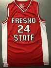 Mens Large Throwback Vintage Paul George Fresno State NCAA Basketball Jersey <br/> Ships for FREE from USA