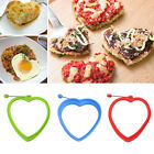 Silicone Heart Omelette Shaper Fried Egg Mold Pancake Poach Egg Ring Mould Home