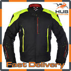 Oxford Toledo 1.0 Waterproof Motorcycle Motorbike Sports Jacket - Fluo