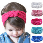 Girls Braided Top Knot Twisted Turban Headband Elastic for Hair Head Bands Wraps