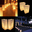 10 Pcs Party Festive Tealight Candle Paper Bag Lantern Wedding Party Decoration