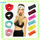 Women Cotton Turban Twist Head Knot Headband Wrap Twisted Knotted Hair Band Hot