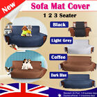QUILTED PET DOG 1/2/3-Seater Couch Sofa Seat Lounge Protector Cover Slipcover AU
